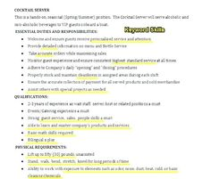 Bartending Resume Template Unforgettable Bartender Resume Examples To Stand Out Myperfectresume, Bartender Resume Sample Resume Genius, Bartender Resume Hospitality Example Sample Job Description, Resume Pdf, Video Resume, Resume Summary, Resume Templates, Resume Format, Resume Skills, Resume Tips, Resume Examples, Job Resume Samples