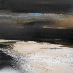 Nordseenächte 3x 70/70 cm abstrakte acrylmalerei, abstrakte expressive malerei, abstrakte Kunst, abstrakte kunst kaufen, abstrakte landschaft, abstrakte Malerei, abstrakte malerei kaufen, Acryl.Akt…