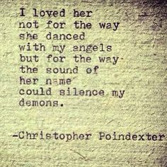 This reminds me of my mother. Although our relationship was not always the best, she was my first teacher. Now that she is gone the sound of her name does silence my demons. Charlotte brings me to a happy place