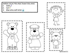 Goldilocks and the Three Bears Oral Language and Literacy Centers