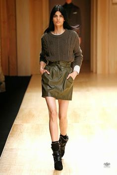 The Spanish fashion brand MANGO was the first which presented a collection during the edition of the fashion show Barcelona Fall Winter 2014, Autumn Winter Fashion, Summer 2015, Spring Summer, Mango Presents, Moda Barcelona, Military Style Coats, Barcelona Fashion, Spanish Fashion