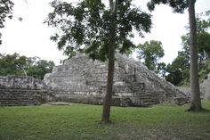 Yaxhá, Petén, Guatemala. Maya archeology.