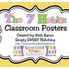 If you teach the 7 Habits of Happy Kids (The 7 Habits of Highly Effective People) by Sean Covey, these posters are the perfect addition to your cla...