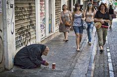 walking in athens by Vasiliki Sartorou