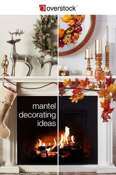 Updating your mantel is a great way to showcase festive elements throughout the year. This guide will show you the fundamentals of a mantel decorated for the spring, summer, fall, and Christmas seasons. When you use elements from nature, as well as colors that coordinate for each season, you can create a look for your mantel that will set the tone for the rest of your decor. Shop home décor and more at Overstock.com.