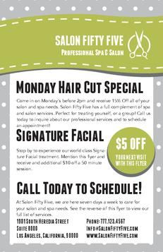 Salon promo ideas on pinterest salons flyers and salon for Beauty salon xmas offers