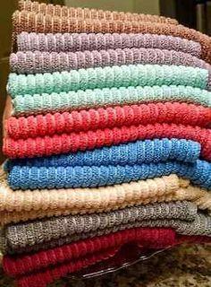 Norwex Kitchen Towel & Cloth Set (1 Cloth, 1 Towel) Microfiber ...