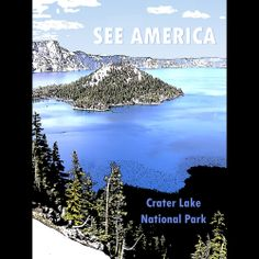 Crater Lake National Park by Marcia Brandes  #SeeAmerica