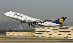 Lufthansa in Los Angeles