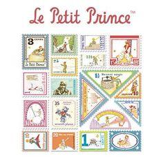 Stamp Sticker Set V.4 - The Little Prince  - B Type 01 - LP4610