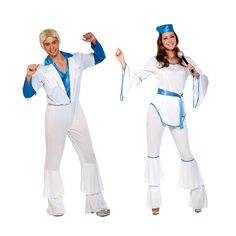 Costumes pour couples Disco Abba #déguisementscouples
