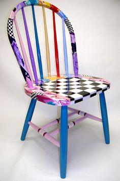 Frank Reda Designs #painted #furniture bad link - but wonderful painting idea!!!