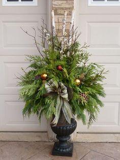 Christmas planter: