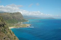 Makapu'u Point Lighthouse Trail is an excellent place to view migrating humpback whales in season (November-May). Give yourself about 2 hours to enjoy this hike and it's wonderful views. #Honolulu