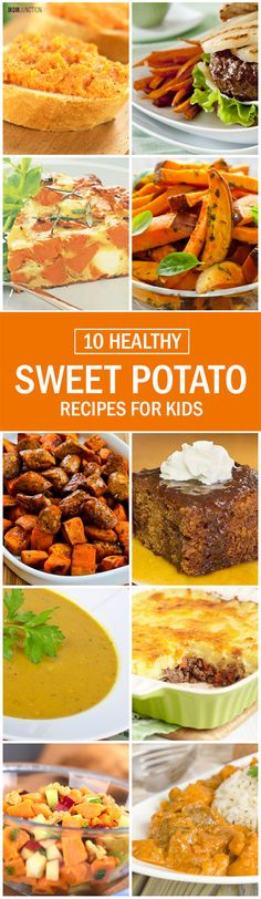 10 Healthy Sweet Potato Recipes For Kids
