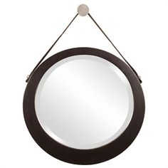 Howard Elliott Collection - Bloom Mirror Accessorizing a living room with  #FabricutLovesNate