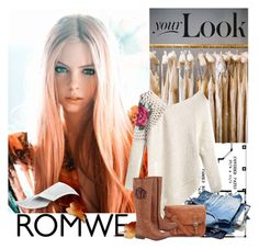 """""""romwe contest!!!"""" by tiko-riko ❤ liked on Polyvore featuring moda e Chantelle"""