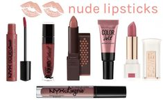 Perfect for a chic & effortless glam look, here are the best nude lipsticks for every skin tone. From a soft pink nude to rosy tan, these easy-to-wear nude lipsticks are not too pale, not too beige – just right! Read on to find your perfect picks… Mood Lipstick, Green Lipstick, Burgundy Lipstick, Nyx Lipstick, Lipstick Colors, Lip Colors, Lipstick Names, Bright Lipstick, Lipsticks