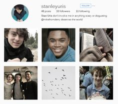 stanlon + instagram Its 2017, Aesthetic Fonts, Instagram Accounts To Follow, Im A Loser, Mom Jokes, Afro Punk, Stranger Things, Aesthetic Wallpapers, It Cast