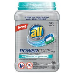 STOCK UP on New All PowerCore Laundry Detergent!!! | KouponingWithKatie