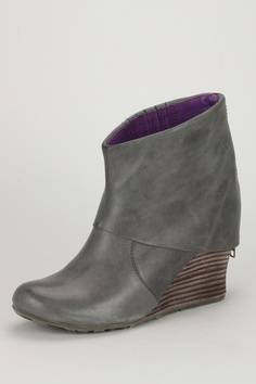 JUMP Pat Wedge Bootie - ..not usually a fan of the wedge boot.. but this is a good lookin' shoe-