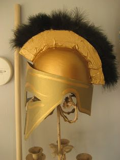 1000+ images about Athena costumee on Pinterest | Helmets ... How To Make Athenas Helmet