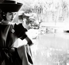 Sui He & Nan Fulong by Mario Testino in 'Portrait of a Lady' for Vogue China December 2013 - 0- News for Women, Fashion & Style, Women's Rights - Women's Fashion & Lifestyle News From Anne of Carversville