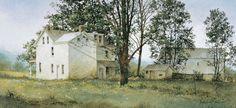 Primrose Farm Art Print by Ray Hendershot - WorldGallery.co.uk