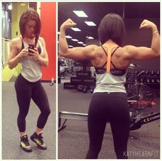 I am totally obsessed with katyhearnfit. Her body is my goal! #legggo