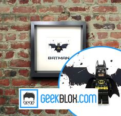Batman Framed Minifigure