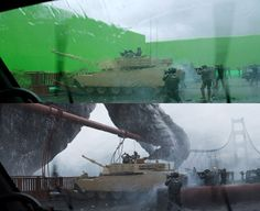 40 Before and After Shots That Demonstrate the Power of Visual Effects