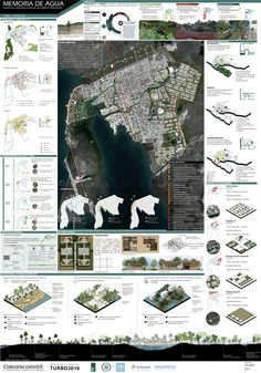 View full picture gallery of Memoria De Agua - ConvivE XI Concept Board Architecture, Architecture Site Plan, Architecture Presentation Board, Architecture Graphics, Architecture Posters, Masterplan Architecture, Landscape Design Plans, Landscape Architecture Design, Architecture Portfolio