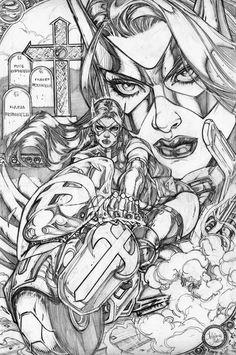 Huntress by Adriana Melo (DC comics)
