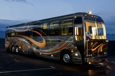 Prevost Motorhome. - Are you DrumCorpsReady.com