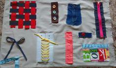 Tapiz de motricidad fina   Ser padres es facilisimo.com Montessori, Sewing For Kids, Education, Diy, Google, Clothes, Ideas, Fine Motor, Fine Motor