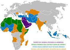 Medio Oriente Contemporáneo: Diferencia entre árabe, musulmán, islámico e islamista Islamic Art, Egypt, Logos, Poster, Infographics, Spanish, Magazine, Twitter, Image