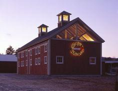 Barn by BarnMakers by Yankee Barn Homes, via Flickr