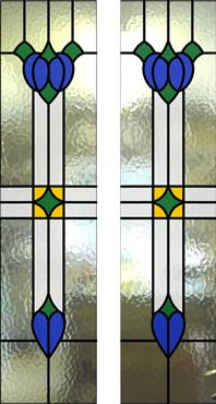 victorian traditional edwardian stained glass window design - Google Search