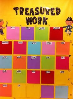 To display work. I like the idea of bright colors, but I think this has sparked an inspiration for an even better idea! ;)