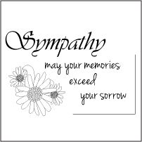 photograph relating to Free Printable Sympathy Cards named Totally free Printable Sympathy Playing cards In direction of Coloration