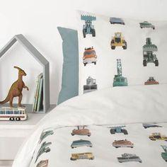 Slapen - Jut en Juul Lifestyle for Kids Single Duvet Cover, Kidsroom, Duvet Covers, New Homes, Studio, Inspiration, Furniture, Home Decor, Bedding