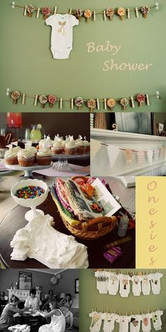 Inspirations for baby shower