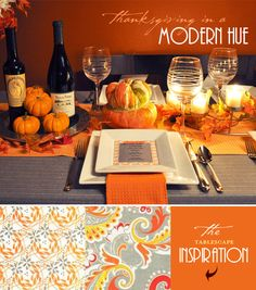 Orange and Grey - Little Pumpkin Baby Shower