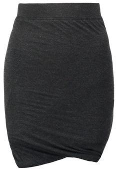 Moss Copenhagen ISA Bleistiftrock black melange Bekleidung bei Zalando.de | Material Oberstoff: 78% Viskose, 17% Wolle, 5% Elasthan | Bekleidung jetzt versandkostenfrei bei Zalando.de bestellen!