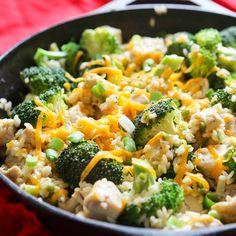 Pip & Ebby - Pip-Ebby - One-Pan Chicken Broccoli RiceSkillet