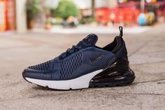 f020511c12f5 Nike Air Max 270 AH8050-400 Blue Black Sneaker for Sale-02 Nike is