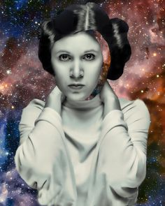 Princess Leia collage