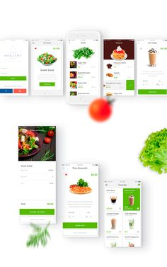 Your Healthy Meals - Food Ordering iOS App on Behance