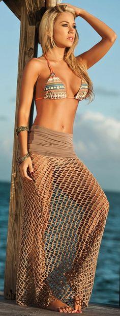 Inspiration for Editorial Fashion Photographer Drew Denny #swimsuit #swimwear #bikini