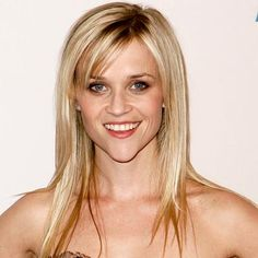 Find the Best Bangs for Your Face Shape - Reese Witherspoon: Heart-Shaped Face - from InStyle.com